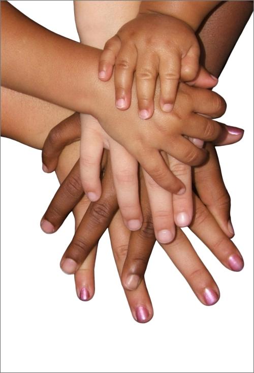 children-hands